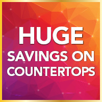 Huge savings on countertops